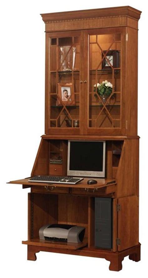 secretarys desk with hutch computer desk with hutch bl contemporary