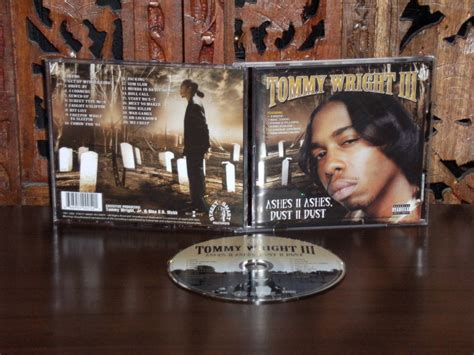 tommy wright iii ashes ii ashes dust ii dust