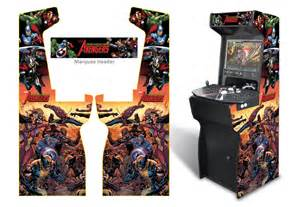 187 xtension arcade cabinet game room graphics