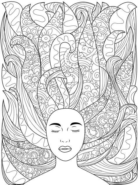 Beautiful Zendoodle Stylized Unicorn Head Stock Vector - Illustration of fantasy, beautiful
