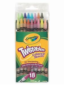 Crayola Twistables Colored Pencils | MisterArt.com
