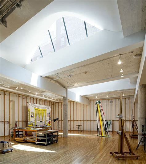 artist studios ateliers curated  yellowtrace