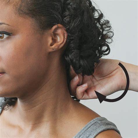 easy vintage hairstyles  natural curly hair