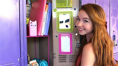 back to school locker organization essentials youtube