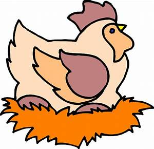 Chicken In Nest Clip Art at Clker.com - vector clip art ...