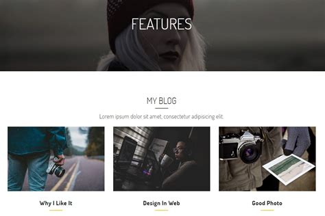 Basic Html Website Template Cool 50 Basic Html Templates For Your Website From 2018