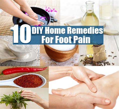 Top 10 Excellent Diy Home Remedies For Foot Pain  Diy