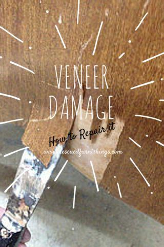how to repair furniture how to repair veneer damage furniture makeover and woods