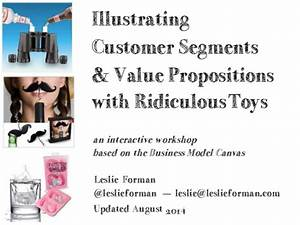 Illustrating Customer Segments & Value Propositions with ...