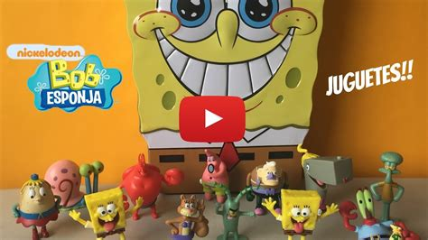 Juguetes de Bob Esponja SpongeBob Toys Kidsplace Town