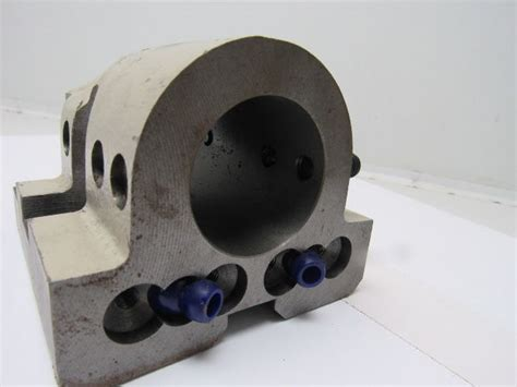 bore cnc turning center lathe turret tool holder block