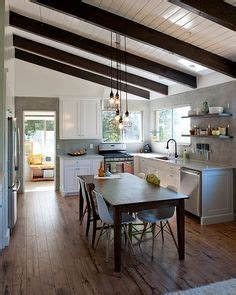 kitchen with hardwood floor pictures whitewashed wood floors floor to ceiling built in shelves 8751