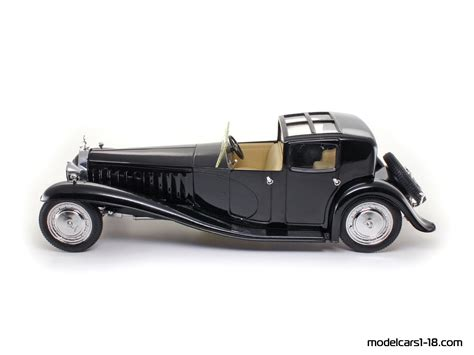 The bugatti type 41, better known as the royale, is a large luxury car built from 1927 to 1933 with a 4.3 m (169.3 in) wheelbase and 6.4 m (21 ft) overall length. 1930 - Bugatti Type 41 Royale Coupe de Ville sedan Solido 1/21 - Gallery