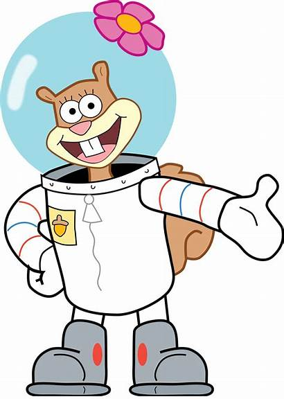 Sandy Cheeks Spongebob Squarepants Squidward Tentacles Karen