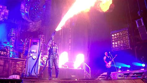 Rammstein  Benzin (live From Madison Square Garden) Youtube