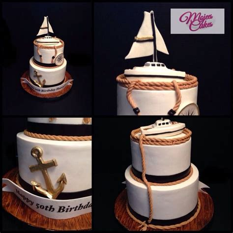 Best Images About Boats Yachts Nautical Cakes
