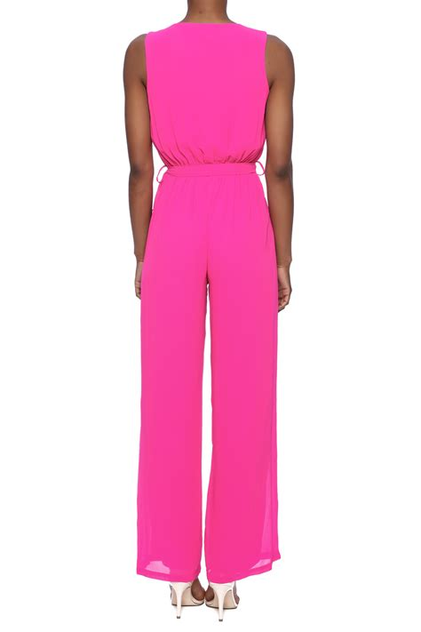 pink jumpsuits miss avenue pink jumpsuit from connecticut by connie b
