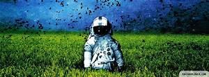 Astronaut Facebook Cover - fbCoverLover.com
