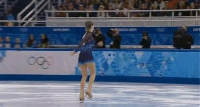 Yulia Lipnitskaya Skating Falls Fail Olympics Gifs