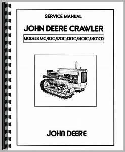 John Deere 420 Crawler Service Manual