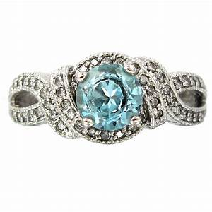vintage blue diamond engagement rings wedding and bridal With blue diamond wedding rings