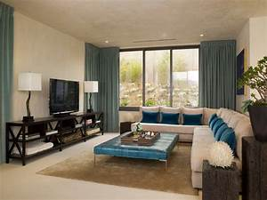 Magnificent, Teal, Window, Treatments, Decorating, Ideas