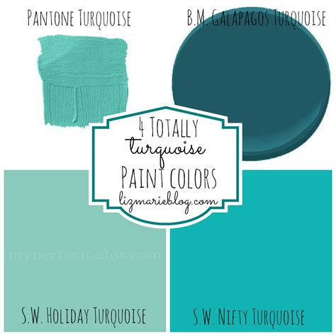 paint colors that compliment aqua decorating with color turquoise