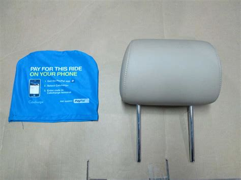 custom printed car seat headrest covers