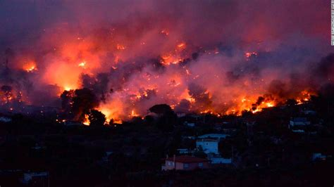 wildfires burn  greece cnn