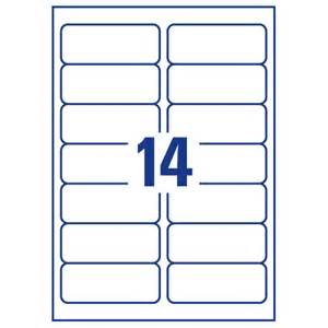 Label Templates 30 Per Sheet Avery 14 Per Sheet Clear Label Pack Of 350 Buy At Huntoffice Ie