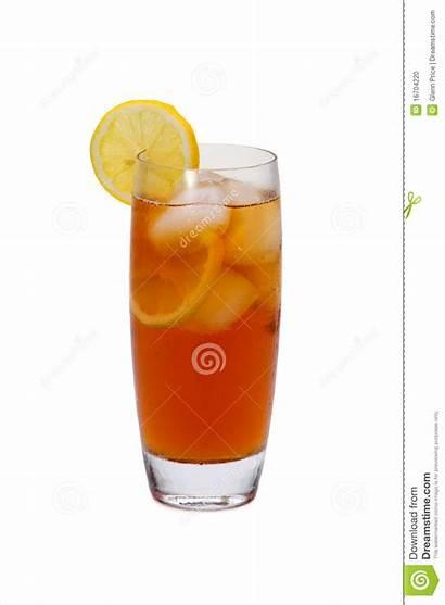 Tea Iced Lemon Clipart Pitcher Slices Glass