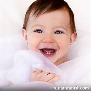 Expresión de alegría en los bebés