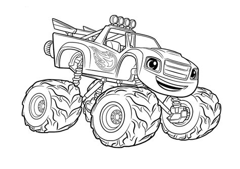 printable monster truck coloring pages  getcoloringscom  printable colorings pages