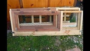Maison Pour Lapin : cage d 39 ext rieur mobile et pliable pour lapin nain angora ~ Premium-room.com Idées de Décoration