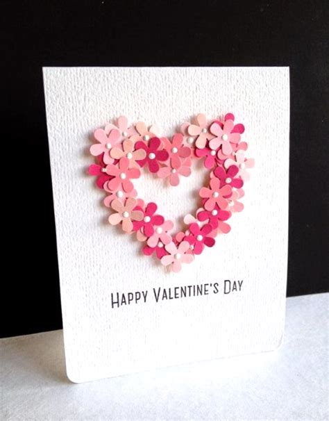 Adorable Valentines Day Handmade Card Ideas – Pink Lover