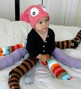 Deguisement Halloween Bebe : d guisement b b halloween fait maison pieuvre multicolore ~ Melissatoandfro.com Idées de Décoration