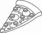 Pizza Clipart Clipartion sketch template