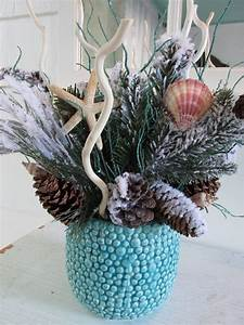 Handmade Beach Themed Christmas Decorations For A Coastal