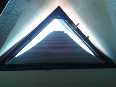 rideau pour fenetre triangle