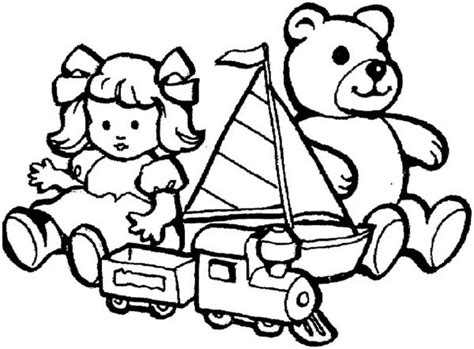 Toys For Little Kids Coloring Pages : Best Place to Color