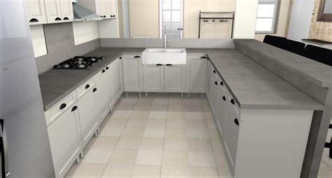 exemple de cuisine en u la cuisine en u dar déco décoration intérieure maison