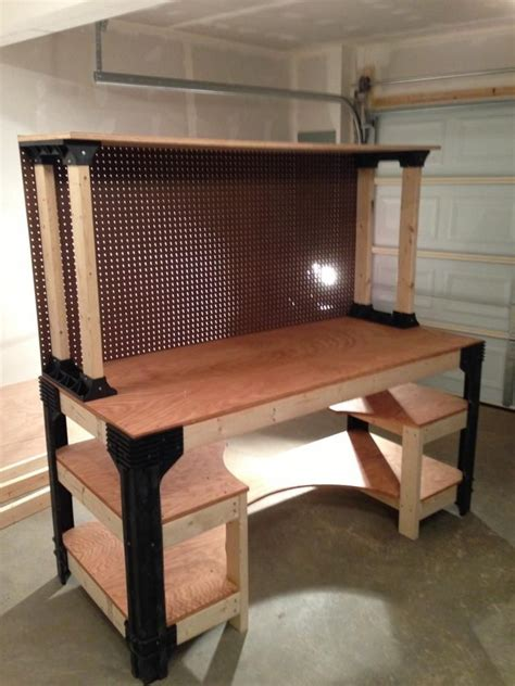 diy wood projects  beginners garage work bench