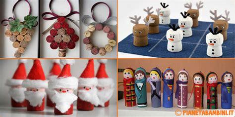 Lavoretti di Natale con Tappi di Sughero: 15 Semplici Idee PianetaBambini it
