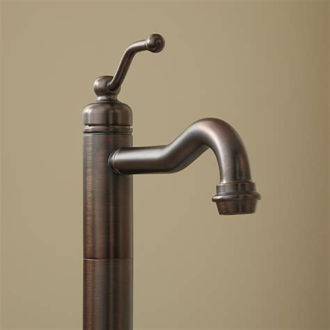 Rubbed Bronze Faucets For Freestanding Tub by Leta Freestanding Tub Faucet Bathroom