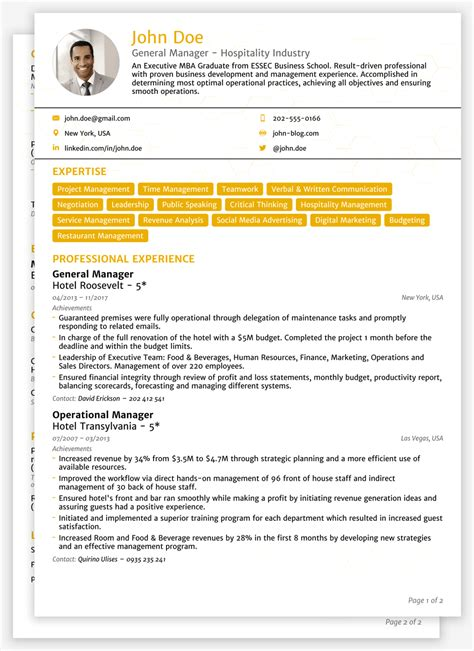Standard Cv Layout by 2018 Cv Templates Create Yours In 5 Minutes