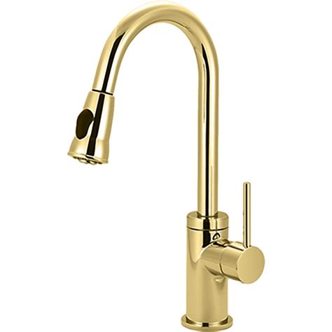 kitchen faucets pull pioneer 2mt250 pb single handle pull kitchen faucet