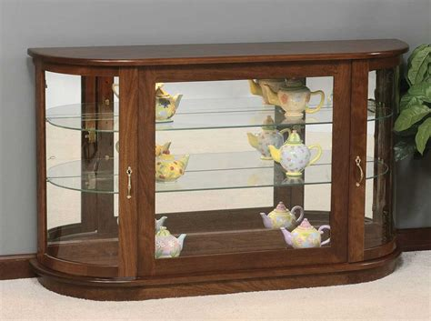 Nature Living Room With Vintage Wooden Small Corner Curio