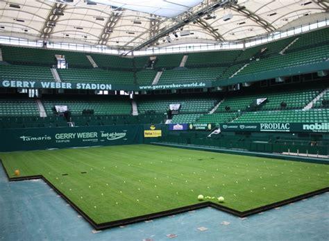 unkrautvernichtungsmittel für rasen 800 quadratmeter rasen im gerry weber stadion ausgelegt