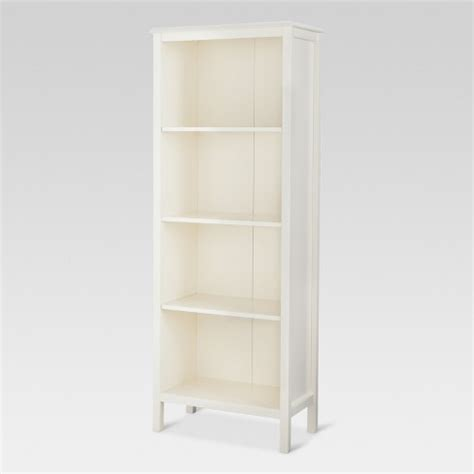 Threshold Bookcase by 60 Quot Windham 4 Shelf Bookcase Shell Threshold Target