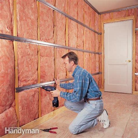 soundproof  room  family handyman
